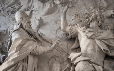 The Pope vs. Attila the Hun