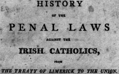 The Legal Persecution of Catholics